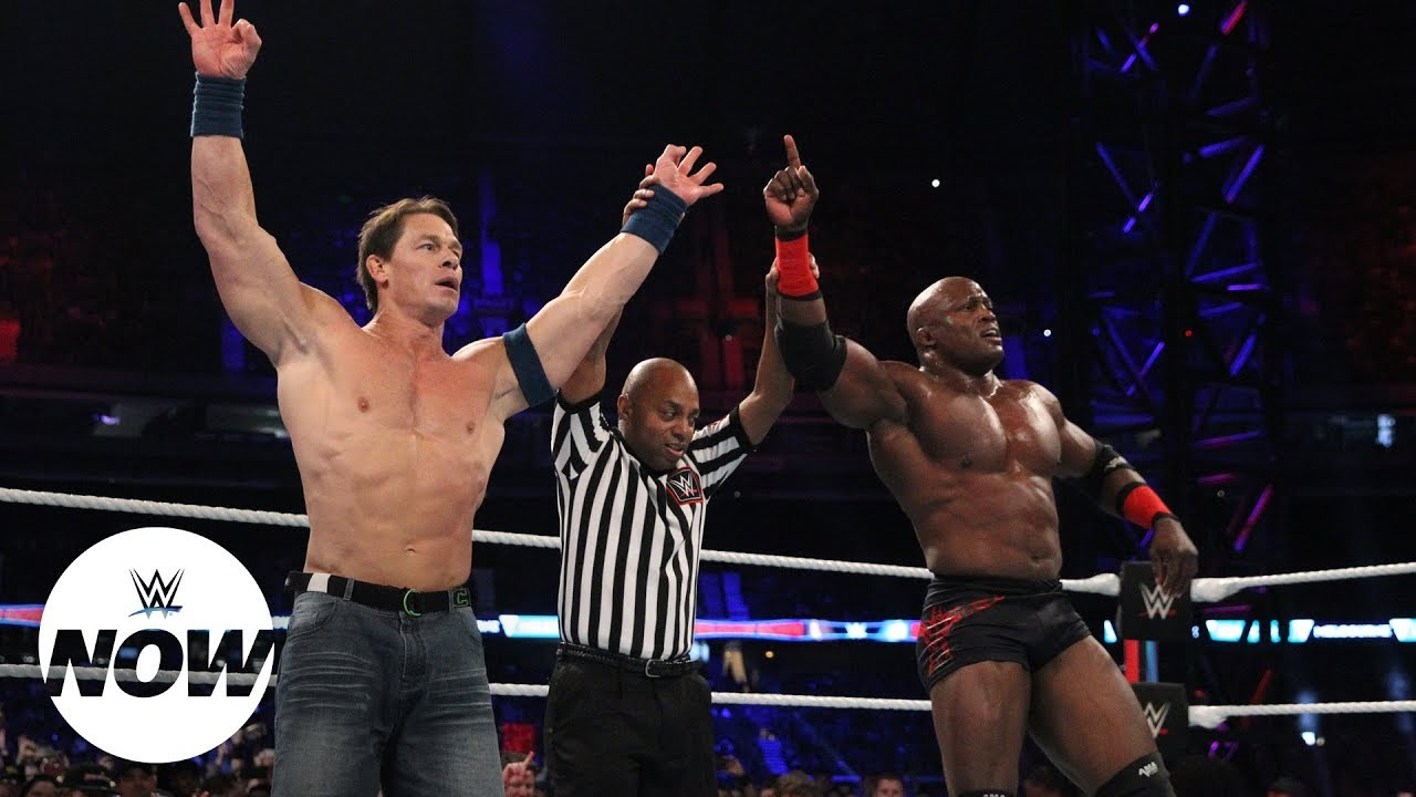 John Cena Victorious In Wwe Tag Return At Wwe Super Show Down Wwe Now