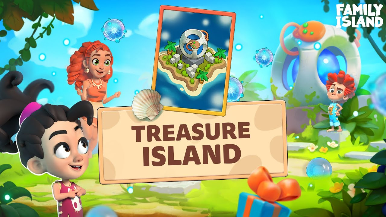 Family Island: All About Treasure Island🌴🌴🌴