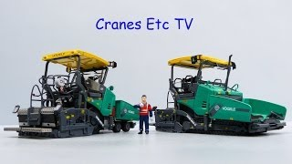 WSI Vögele Super 1803-3 Paver by Cranes Etc TV