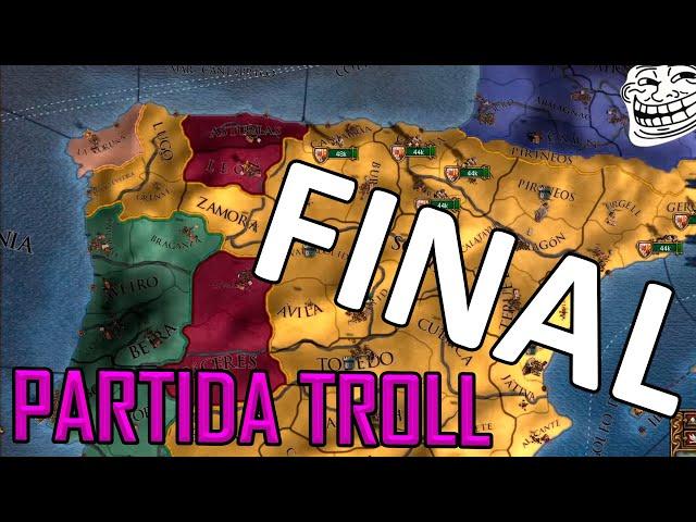 ESPAÑA SE ROMPE | Partida TROLL #FINAL