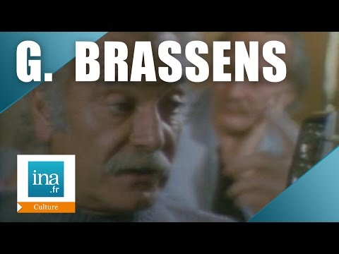 "Georges Brassens ""Je suis fini, je n'ai plus grand chose a inventer"" 