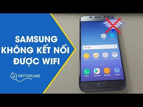 Cách khắc phục lỗi Samsung không kết nối được Wifi hiệu quả