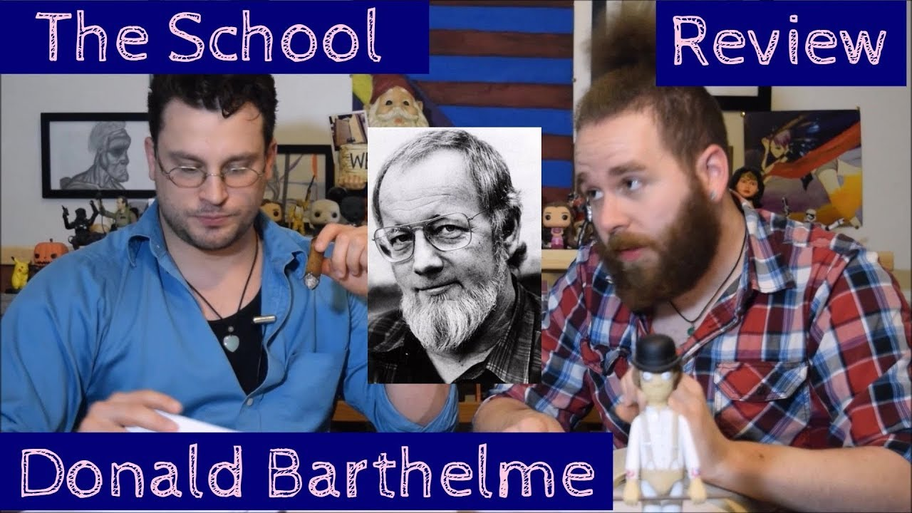 the school short story donald barthelme