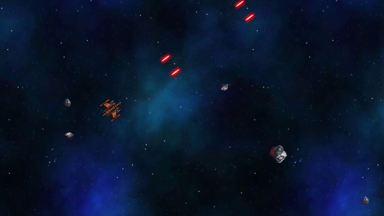 #Devember Space Rocks - Infinite Background Scrolling Test