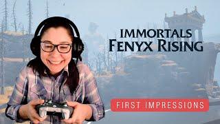 Immortals Fenyx Rising Campaign | First Impressions