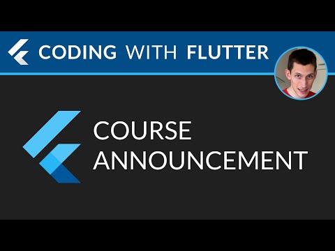 Flutter Update: Course Announcement