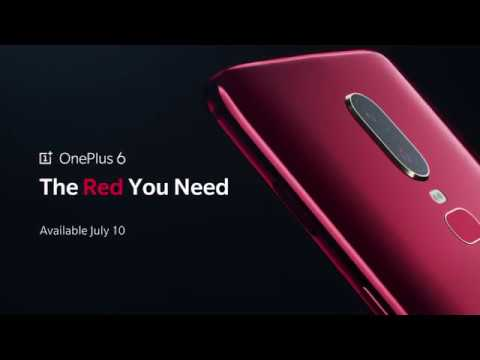 OnePlus 6 Red - Available July 10