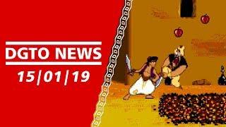 Disney's Aladdin, Ravva and the Cyclops Curse, Galaga Revenge - DGTO NEWS 15/01/19