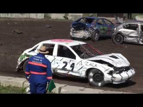 Forest Fair Demolition Derby 2017 | 8 Cylinder