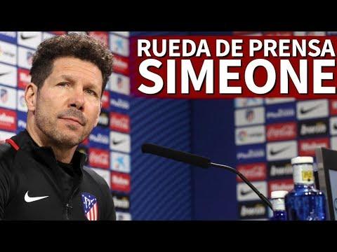 Real Madrid-Atlético   Rueda de prensa previa de Simeone   Diario AS