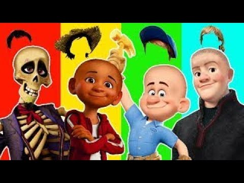 Disney Pixar Coco 2 Miguel Hector Wrong Heads Finger family Nursery Rhymes song