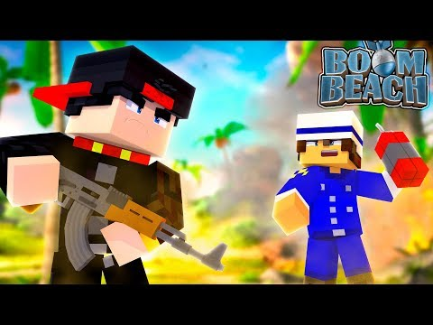 Minecraft BOOM BEACH - JACK TAKES OVER ROPO'S BEACH WITH EASE!!!