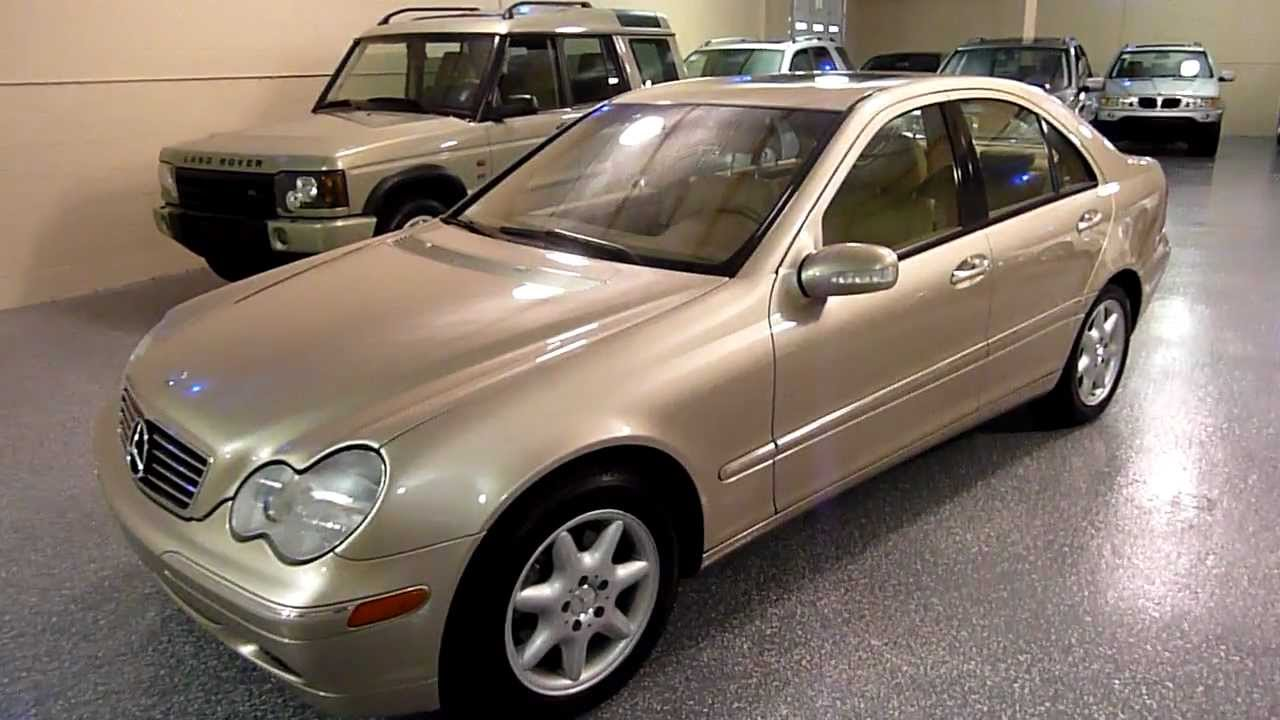 2004 mercedes benz c240 4dr sedan 2 6l 4matic 2085 sold youtube. Black Bedroom Furniture Sets. Home Design Ideas