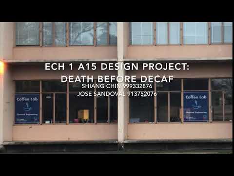 ECH 1 Design Project, Section A 15