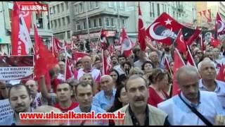 İstanbul'da toplanan on binlerce vatandaş 30 Ağustos zaferini kutladı