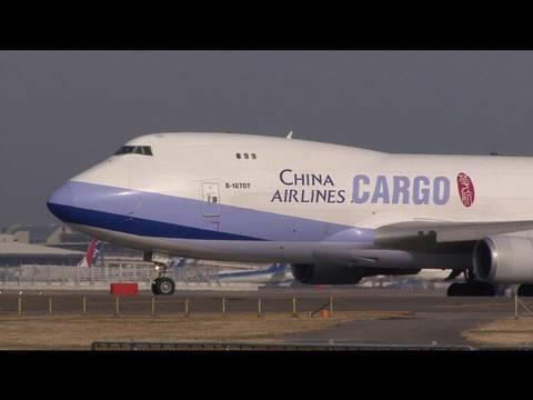 China Airlines Cargo Boeing 747-400F @ Narita 【B-18707】