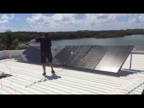 Sanctuary Cove Solar Panel Cleaning