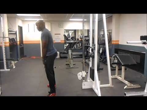Cable Hip Squat - Fumbi Fitness - Personal Trainer - Toronto, ON