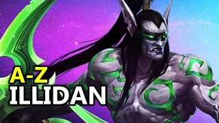 ♥ A - Z Illidan - Heroes of the Storm (HotS Gameplay)