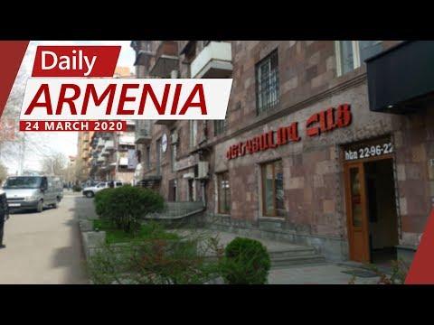 Armenia Goes Into Lockdown