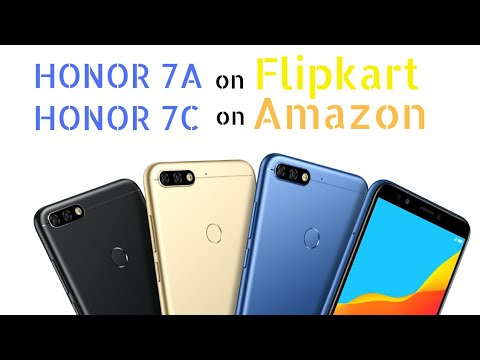 sports shoes 59387 f3654 Honor 7A | Flipkart | Honor 7C | Amazon | Specifications