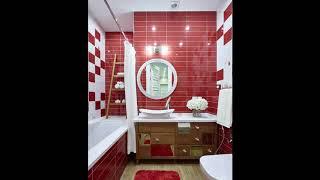 видео Дизайн ванной в красных тонах | Оформление интерьера ванной красного цвета | Ремонт квартиры