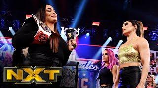 Nia Jax & Shayna Baszler confront Dakota Kai & Raquel González: WWE NXT, Feb. 17, 2021