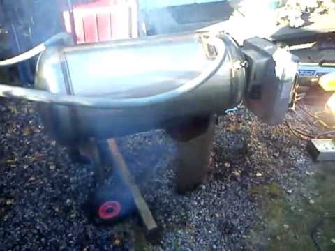 Homemade Pool Heater Youtube