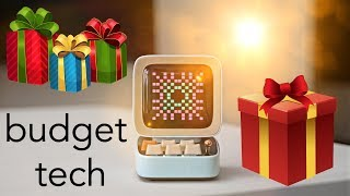 Best Budget Tech ($30-$100) - Awesome Holiday Gift Ideas 2019!