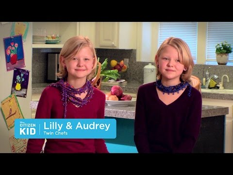 Lilly and Audrey, Twin Chefs | Citizen Kid by Disney