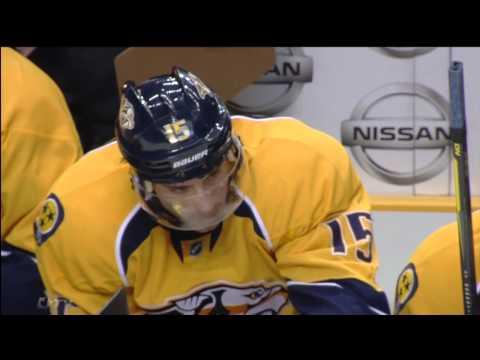 Craig Smith Misses Empty Net vs Leafs  Nov 17th 2011 HD
