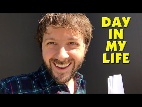 AUDITIONS, YOUTUBE, VOICEOVERS! - A Day In My Life As An Actor Vlog!