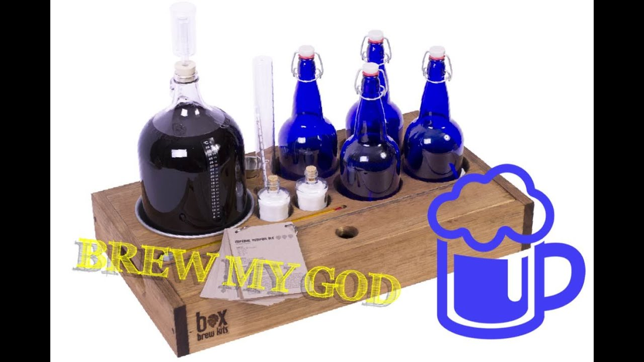BOX BREW KITS Home Beer Brewing Kit (unboxing) - YouTube
