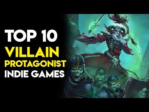 Top 10 Villain Protagonist Indie Games