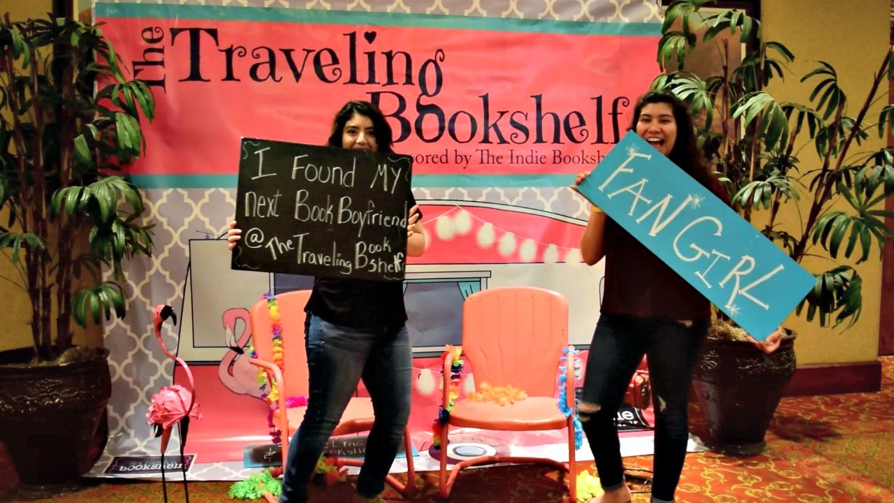 The Traveling Bookshelf 2016