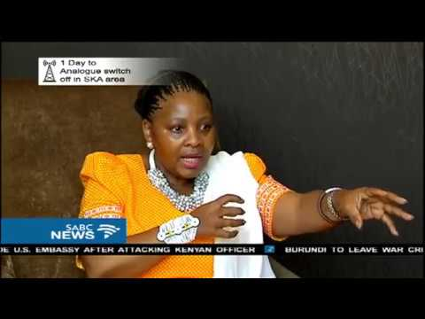 Nosiviwe Mapisa-Nqakula on the ICC and SANDF issues