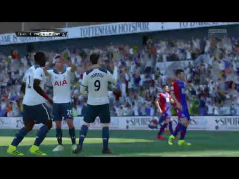 Tottenham Career Mode League game v Palace and Cup match v Fulham Fifa 17 #2