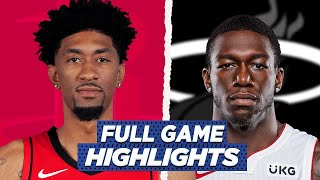ROCKETS at MIAMI HEAT FULL GAME HIGHLIGHTS | 2021 NBA SEASON