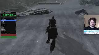 [World Record Speedrun] Skyrim Glitchless in 1:14:07