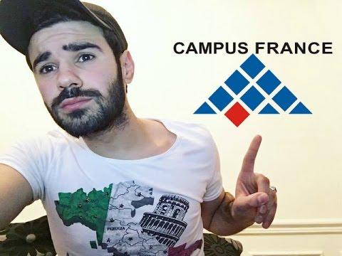 لي بغا يكمل قرايتو في فرانسا Campus france