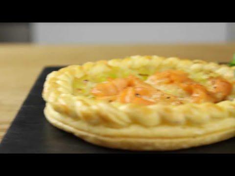 tarte-saumon-fumé-et-poireaux