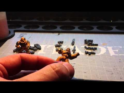 Magnetizing new Space Marine Tactical Squad