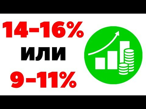 Доходность инвестиций: 14-16% или 9-11% в год? Как выгодно инвестировать деньги в 2019?