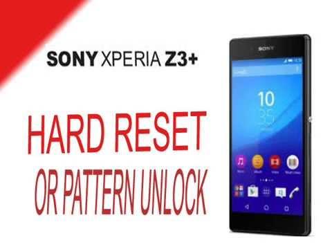 Sony Z3 Hard Reset