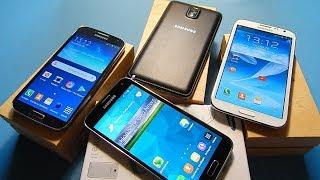 Samsung - Лучшие смартфоны !