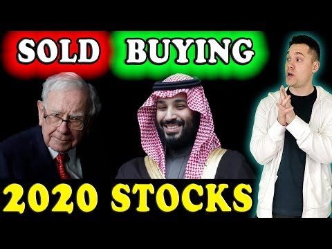 All the STOCKS Saudi Arabia is BUYING in 2020! - (Should You Buy Them Too?)
