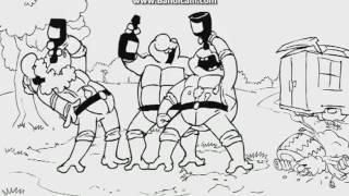 Три богатыря против Черепашек ниндзя