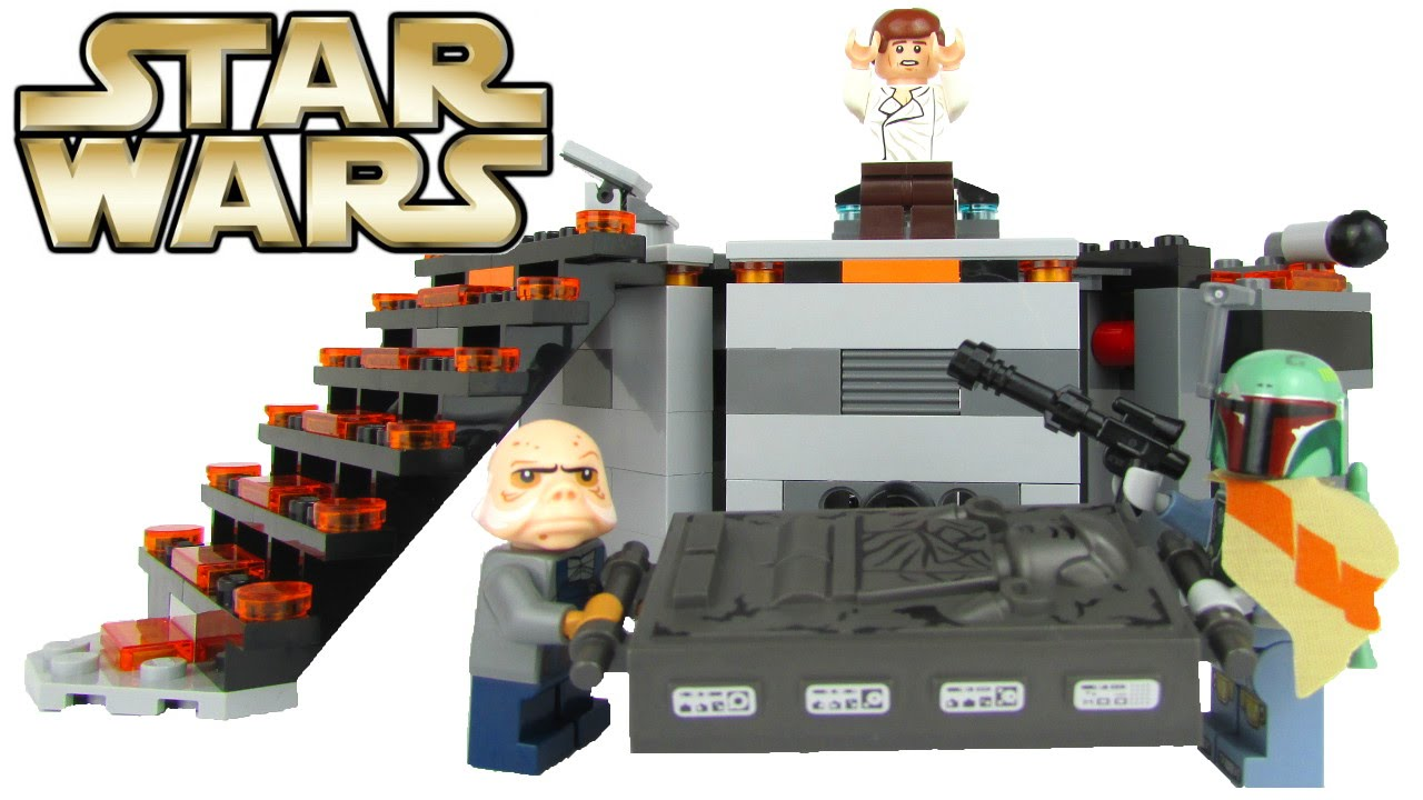 Lego Star Wars 2016 Carbon Freezing Chamber Playset 75137 With Boba