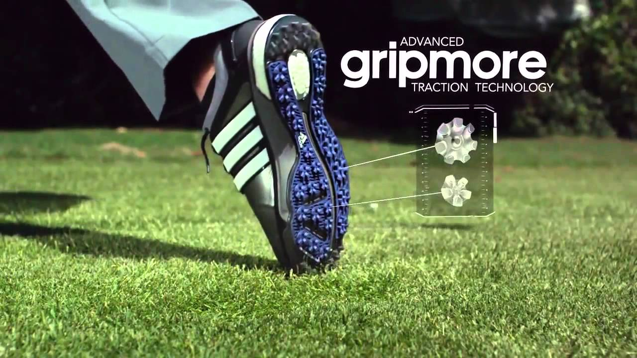 93eea3ae84c Adidas Golf adipower Boost Golf Shoe Technology - YouTube