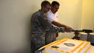 U.S. Army Chaplain Corps Anniversary Cake Cutting